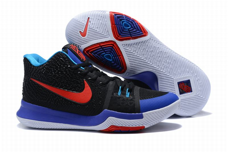 New Nike Kyire 3 Blue Black
