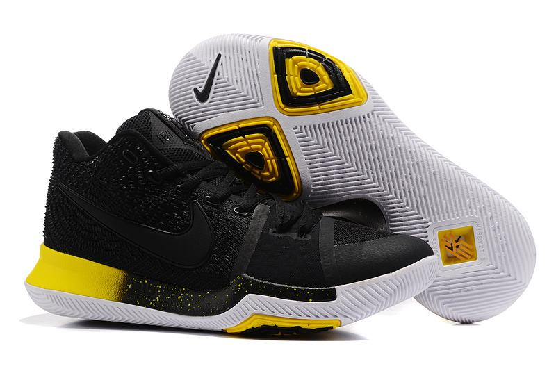 New Nike Kyire 3 Black Yellow