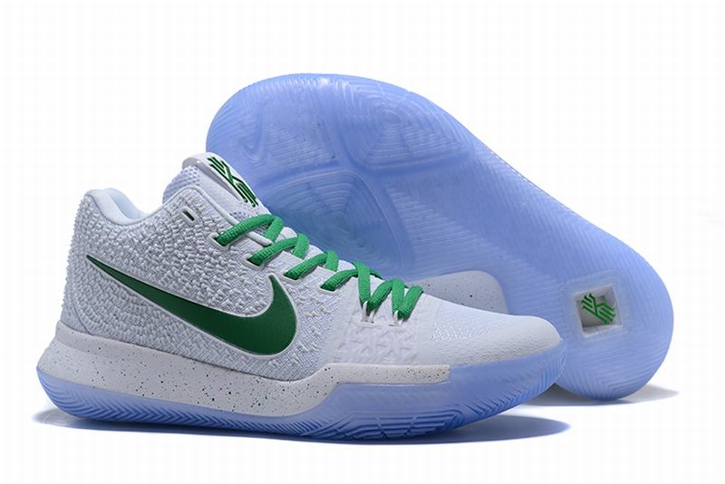 New Nike Kyire 3 Green White