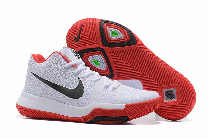 New Nike Kyire 3 White Red