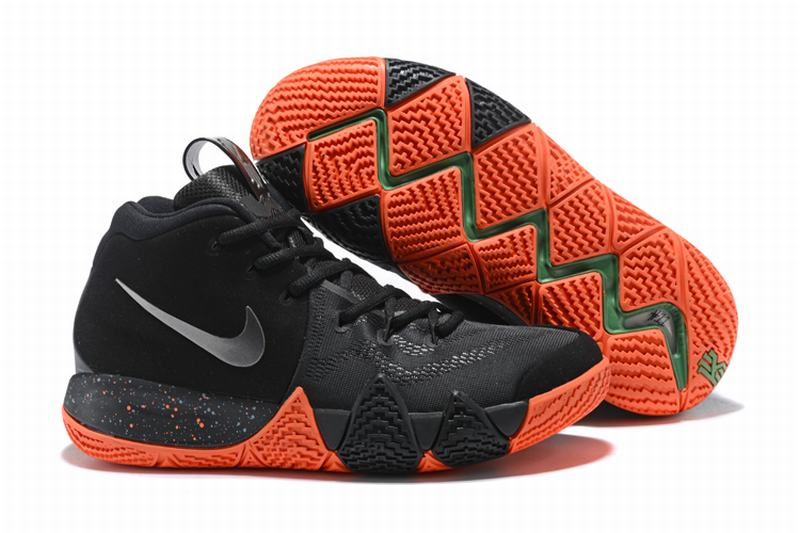 New Nike Kyire 4 Black Orange