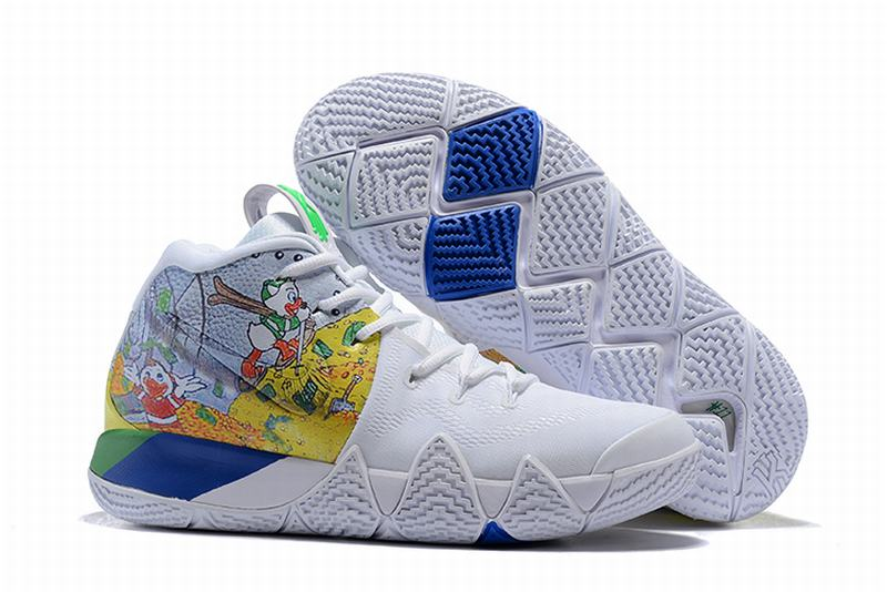 New Nike Kyire 4 Donald Duck White