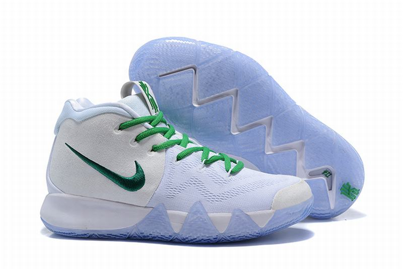 New Nike Kyire 4 White Green
