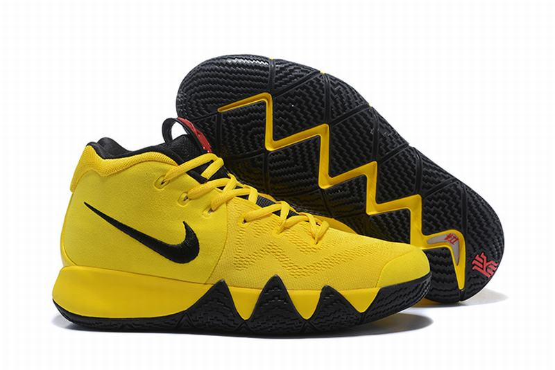 New Nike Kyire 4 Yellow Black