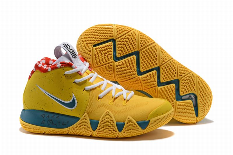 New Nike Kyire 4 Yellow Lobster