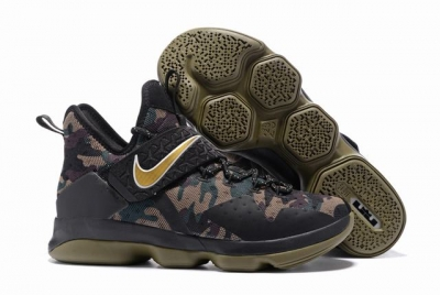 Nike Lebron James 14 Shoes Camo