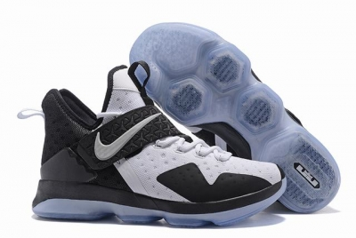 Nike Lebron James 14 Shoes White Black