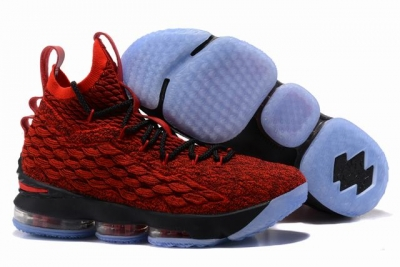 Nike Lebron James 15 Air Cushion Red Black Red