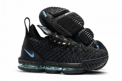 Nike Lebron James 16 Air Cushion Shoes Black Moon