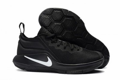 Nike Lebron James Witness 2 Shoes Black White-logo