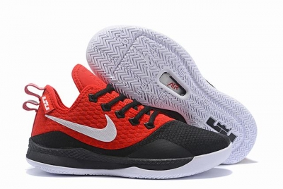 Nike Lebron James Witness 3 Shoes Red Black White