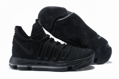 Nike KD 10 Shoes Black Knight