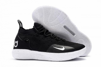 Nike KD 11 Shoes Black White