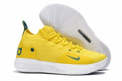 Nike KD 11 Shoes Lemon Yellow