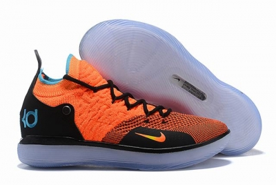 Nike KD 11 Shoes Orange Black