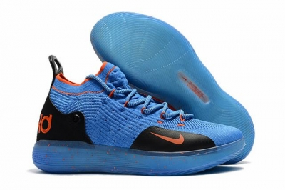 Nike KD 11 Shoes Royal Blue Orange