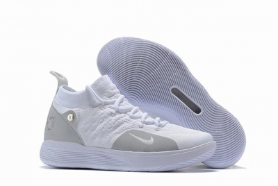 Nike KD 11 Shoes White Grey
