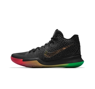 2017 Kyrie 3 Shoes black blue green