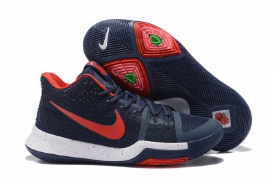 New Nike Kyire 3 Dark Red Blue