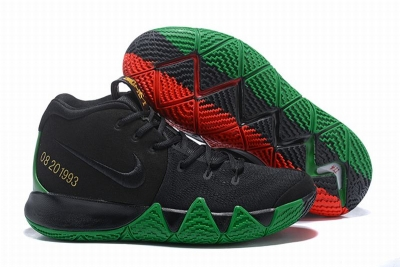 New Nike Kyire 4 Black Red Green