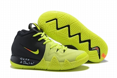 New Nike Kyire 4 Fluorescent Green Black Fluorescent Green-logo