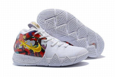 New Nike Kyire 4 Union Painting White
