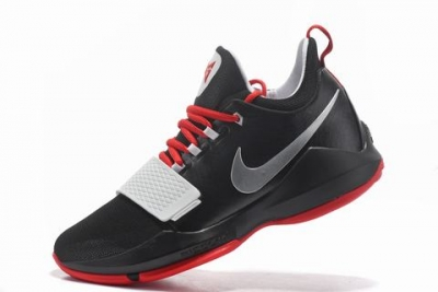 Nike Paul George Shoes PG 1 Black Red
