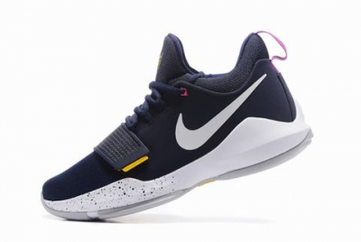 Nike Paul George Shoes PG 1 Blue White