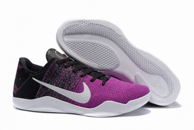 Kobe 11 Shoes Black Pink