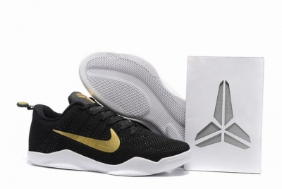 Kobe 11 Shoes History of the Asia trip Black Gold