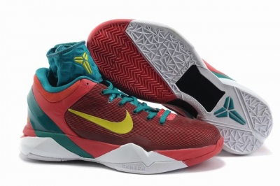 Kobe 7 Shoes Red White Dragon