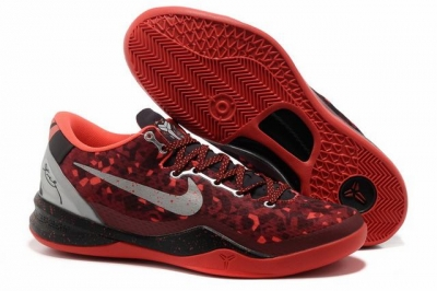 Kobe 8 Shoes The Year Of Snake Red