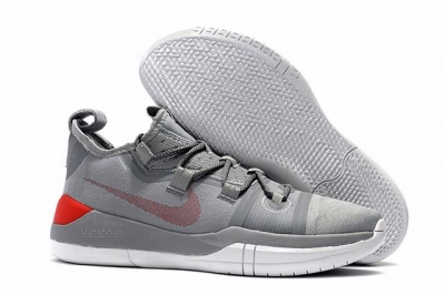 Nike Kobe AD EP Shoes Grey Red