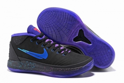 Nike Kobe AD EP Shoes Mid Black Purple