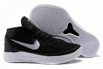 Nike Kobe AD EP Shoes Mid Black White